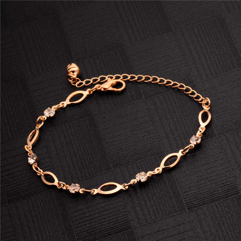 MISANANRYNE Hot Gold Color Anklet Bracelet Wedding Foot Jewelry Chain Barefoot Sandals Beach Foot Bracelet For Women