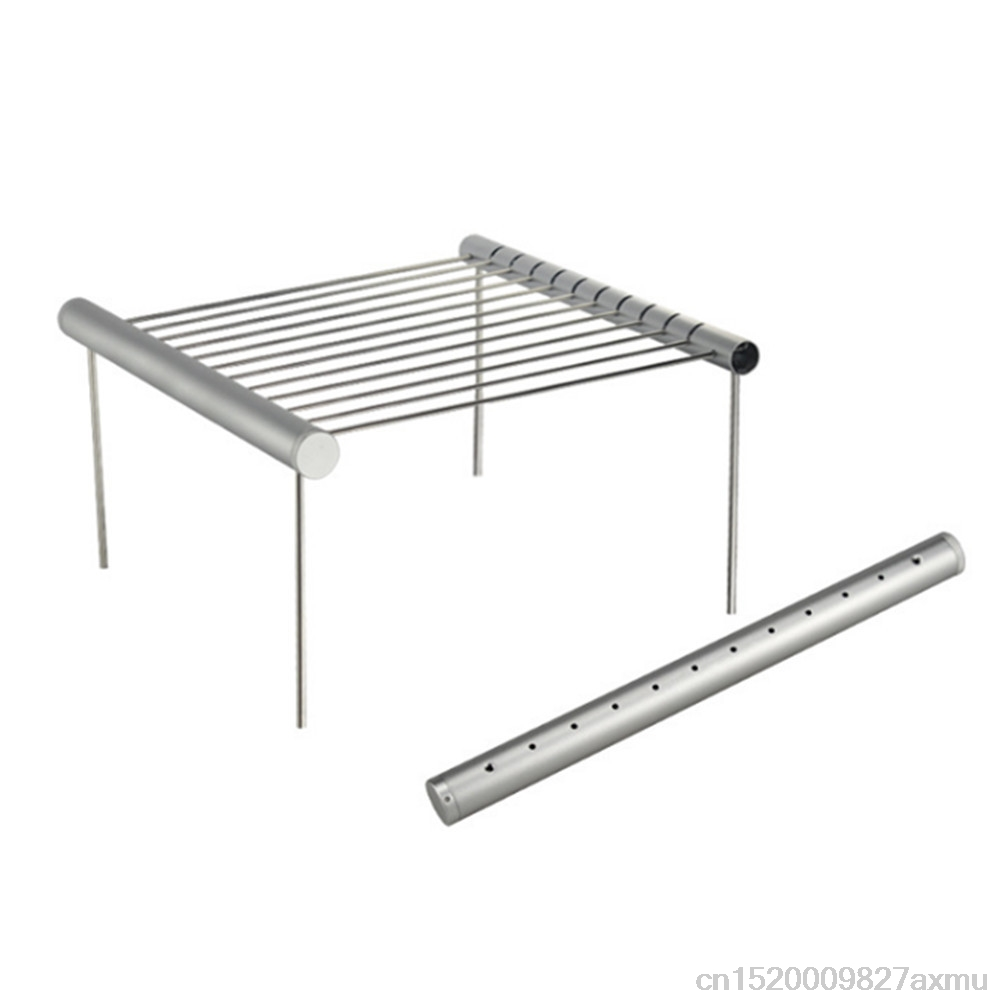40PCS Easy Disassembly Food Grade Stainless Steel BBQ