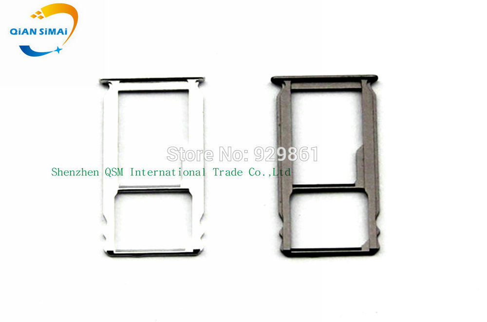 QiAN SiMAi 1PCS New SIM Card Tray Holder & Micro SD Card Tray Slot Holder Adapter For Huawei Ascend Mate S Moible phone