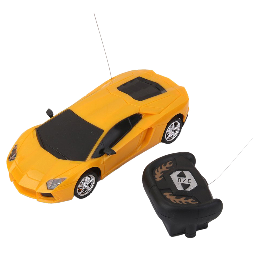 New 01.24 Electric RC Remote Controlled Car Children Toy Model Gift Red radio-controlled car