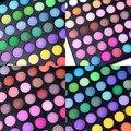 40 unids/lote venta al por mayor 168 del maquillaje del Color de sombra de ojos maquillaje profesional cosméticos paleta mate caliente de sombra de ojos sombras paletas