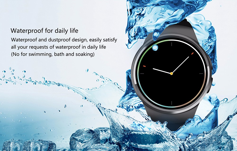 KW18 Smart Watch SIM TF MTK2502 Heart Rate Monitor Smartwatch Touch Screen bluetooth Wristwatch for apple android IOS phone wholesale price mobile phone anti theft alarm display stand with charging for exhibition
