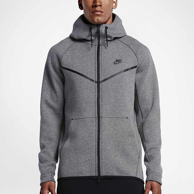 US $99.63 19% OFF|Original New Arrival NIKE M NSW TCH FLC WR Men's Jacket Hooded Sportswear in Running Jackets from Sports & Entertainment on
