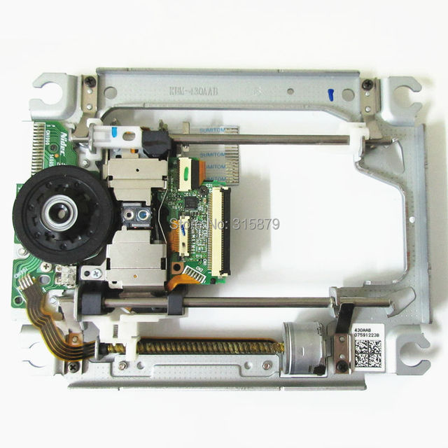 Original New KEM 430AAB for SONY PS3 Console Blu ray Laser Lens 430AAB KES 430A with Mechanism