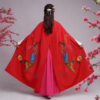 Hanfu Cloak Costume Opera Costume Qing Dynasty Clothing Huadan Hanfu Cloak Female Peking Opera Performance Costume 120402