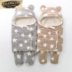 5 Colors Autumn Winter 0-1 Years Old Baby Sleeping Bags Cartoon Cent Leg Sleeping Bag Newborn Babies Anti-kick Sleeping Bags