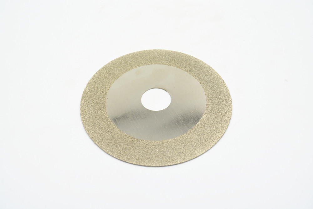 16mm to 100mm Outside Dia. 0.8-1mm Thickness Diamond Coated Rotary Cutting Disc Abrasive Grinding Polisher Tools With Mandrel