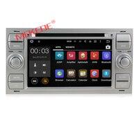Бесплатная доставка 2Din 7 дюймов в тире Android7.1 стерео для Ford/Mondeo/Focus/Транзит/C MAX с 4 ядра Wi Fi gps Navi Радио