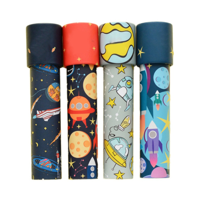 Fashion And Cute Kaleidoscope Cartoon Baby Planetary Children's Toy Toys Series Rotating