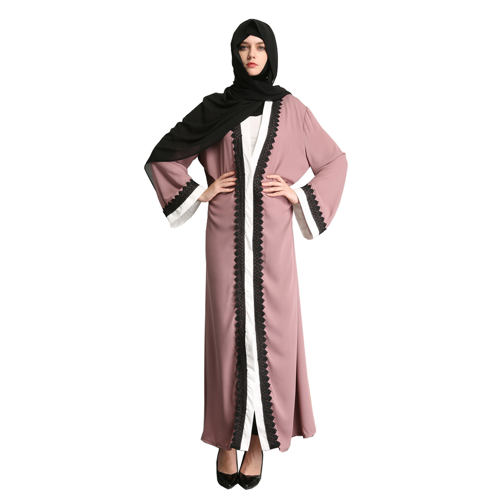 Adult Muslim Fashion Malaysia Lace Patch Designs Abaya Robes ...