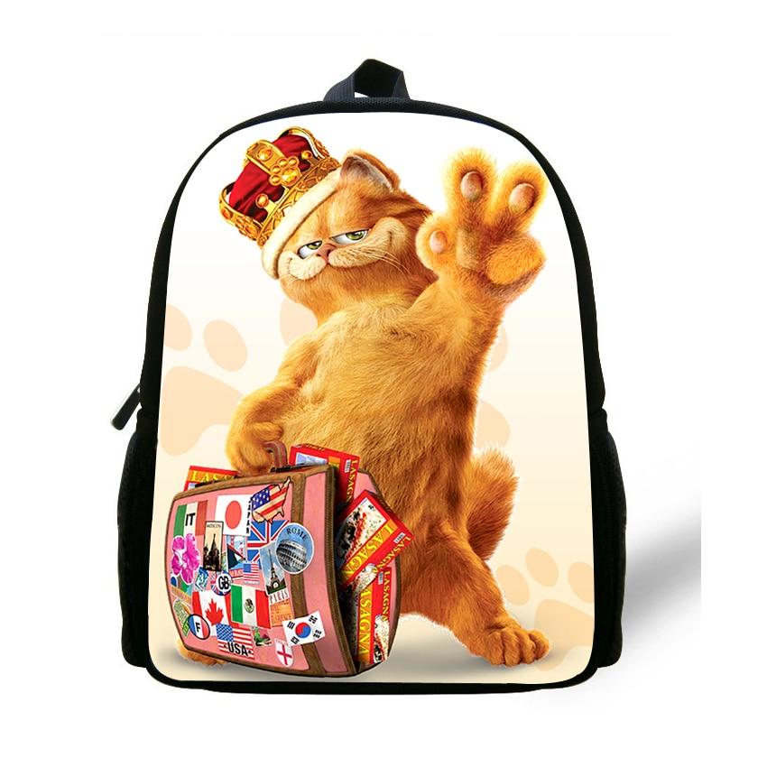 e0a9681207 Detail Feedback Questions about 12 inch Mochila Garfield Backpack Children  School Bags Boys Cartoon Kids Bags Girls Mini Bolsa Infantil Menino on ...