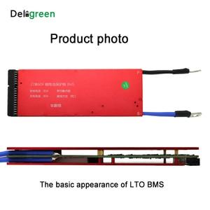 Image 2 - Lto 6S Bms 5S 10S 15S 20S 25S 30S 80A Bms Met Balans functie 2.3V 2.4V Lithium Titanate Batterij Voor Auto Audio Home Motorfiets