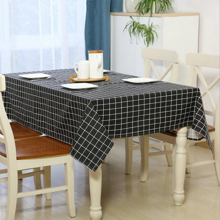 Furniture Dust Cover Fabric: Household&Hotel&Meeting Tablecloth Dining Table Cloth