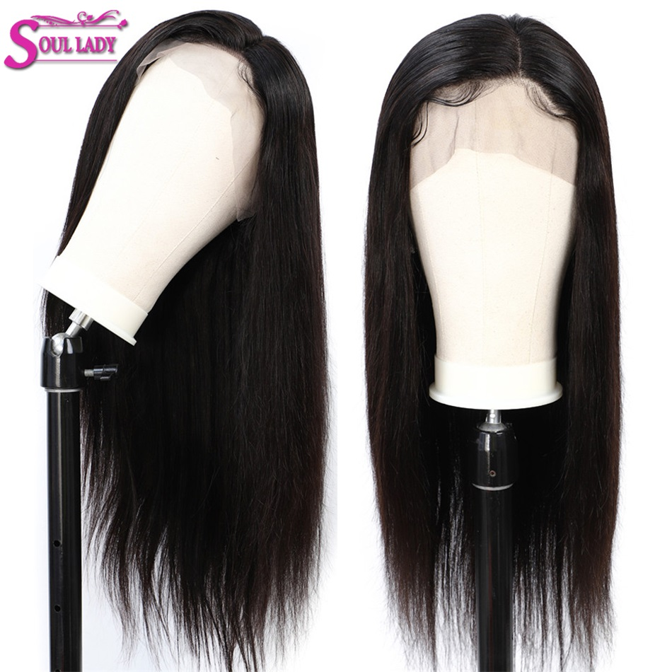 glueless lace front human hair wig with baby hair