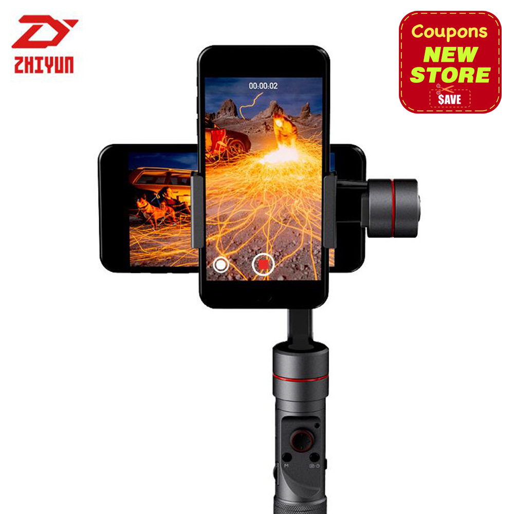 Zhiyun Smooth III Smooth 3 3 Axis Handheld Gimbal For Smartphones For IPhone 7 6 Plus