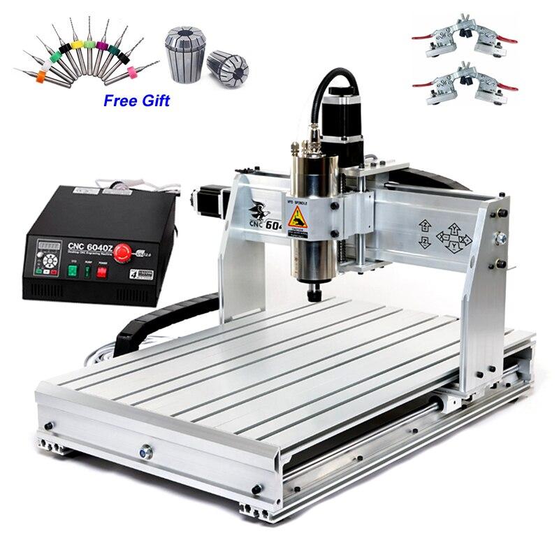 1500 W USB CNC routeur 6040Z 1.5KW Machine de gravure pour le métal dur