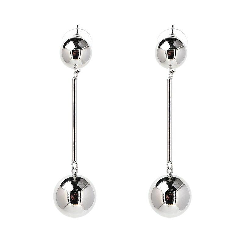 JUJIA noua calitate bună Cerc cercuri Perle de miere netedă Față - Bijuterii de moda - Fotografie 3
