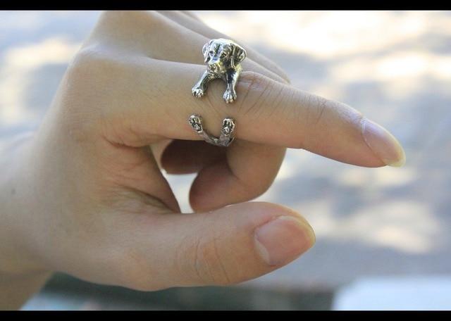 Купить кольцо регулируемое в ретро стиле для любителей животных 12 картинки