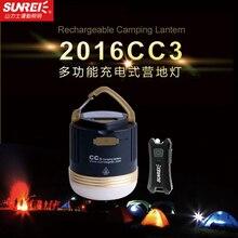 SUNREE лагерь на открытом воздухе CC3 550 люмен 5 Вт светодио дный кемпинг свет USB IPX5 Перезаряжаемые лампа с 9900 мАч Батарея