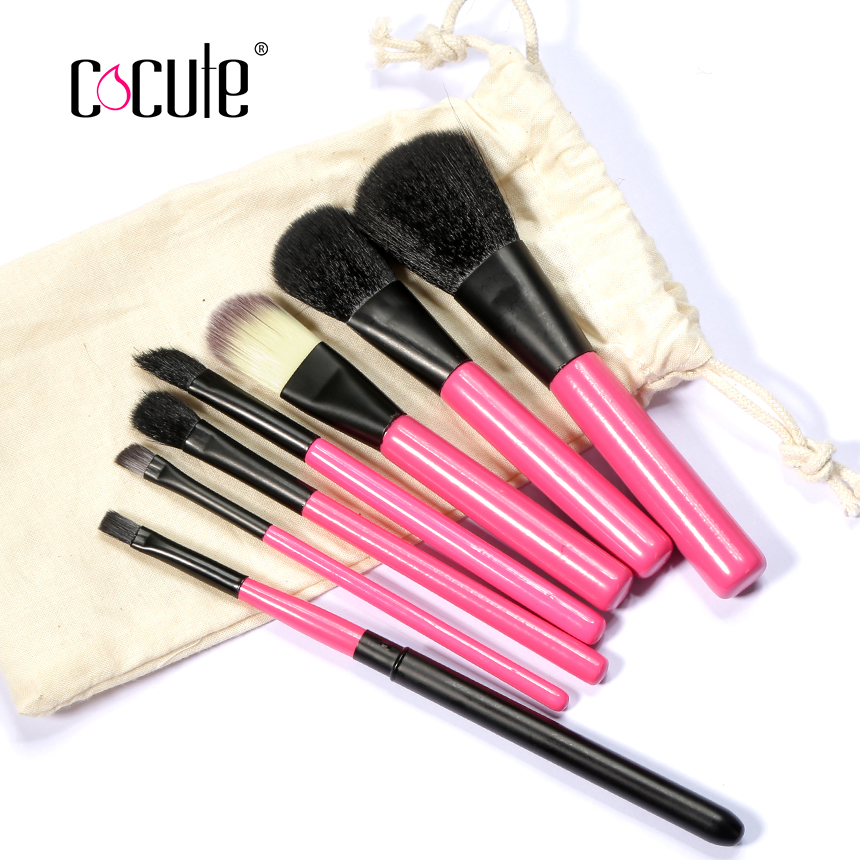 Cocute Professional Makeup Brushes Set handle Cosmetic Foundation Blusher Powder Blending Brush beauty tools kits