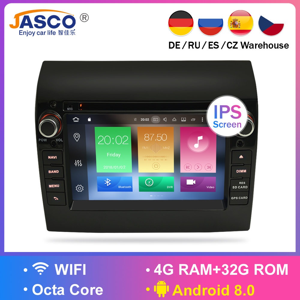 New Link Ram 4G Android 7.1 8.0 Car Stereo For Fiat Ducato Jumper Boxer 2GB RAM DVD Headunit Bluetooth GPS Navigation TDA7851