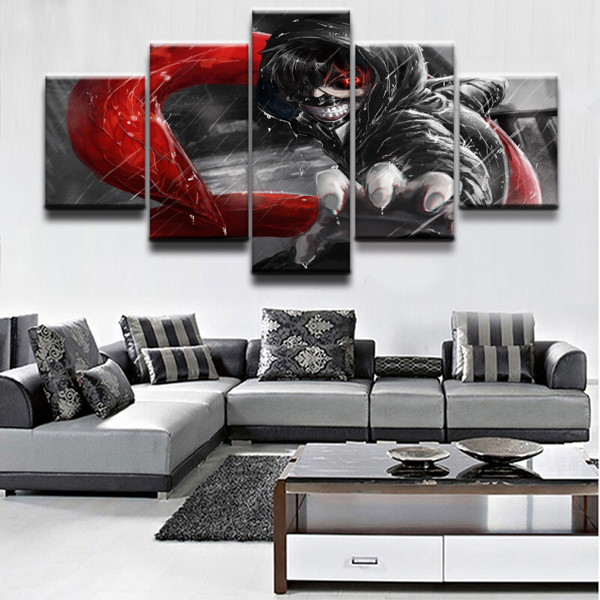 Tokyo Ghoul UTA HD Print Anime Wall Poster Scroll Room Decor