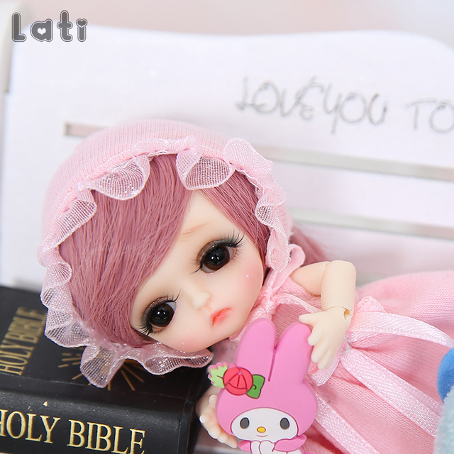 Lati White Belle 1/12 BJD SD Doll Resin Figures Body Model Baby Girls Boys Toys Eyes High Quality Gifts Oueneifs luodoll