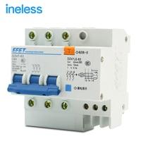 Wholesale DZ47LE 3P N 63A 380V Small Earth Leakage Circuit Breaker DZ47LE 63A Household Leakage Protector