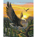 For Wall Art Picture For living room Eagle Frameless DIY Coloring Oil Painting By Numbers Kits Drawing Paint On Canvas 132