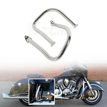 Motorcycle Rear Highway Bars Chrome For Indian Chief Chieftain 14-19 Roadmaster 15-19 Classic Vintage Dark Horse 16-19