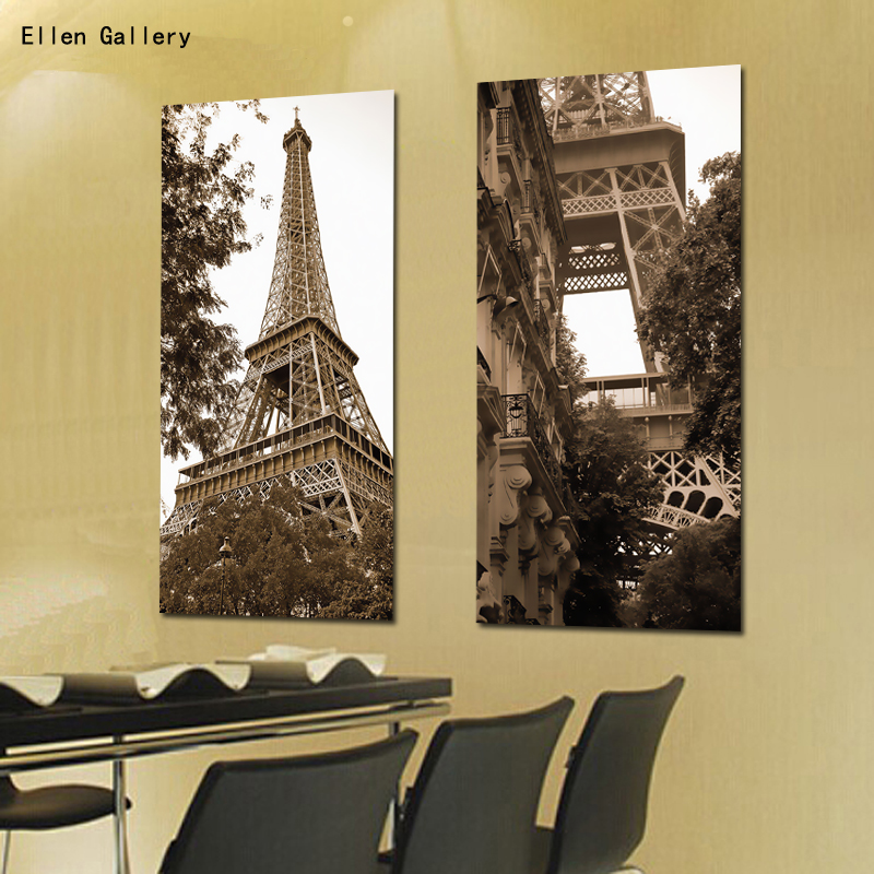 Modern Art Canvas Painting Wall Pictures For Living Room City ...