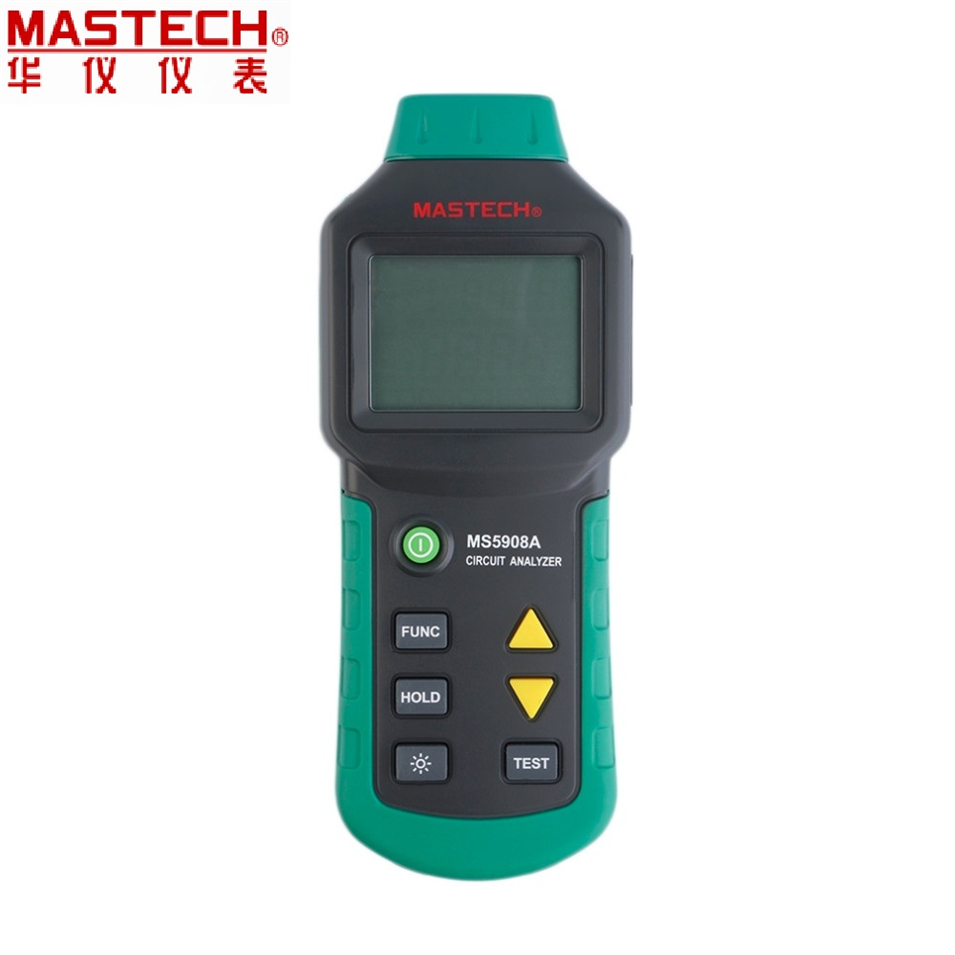 MASTECH MS5908B EU plug serial MS5908A/B/C Circuit Analyzer TRMS AC Low Voltage Distribution Line Fault Tester Optional EU plugs mastech ms5908 circuit analyzer trms ac low voltage distribution line fault tester rcd gfci sockets testing