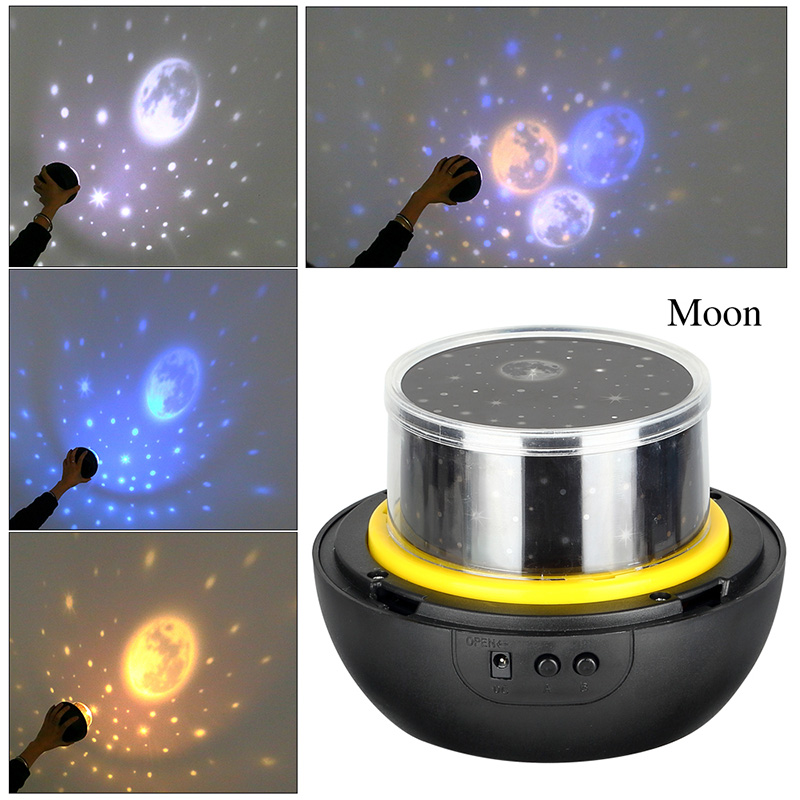 HTB1ecPCXXGWBuNjy0Fbq6z4sXXad LED Night Light Starry Sky Magic Star Moon Planet Projector Lamp Cosmos Universe Luminaria Baby Nursery Light For Birthday Gift