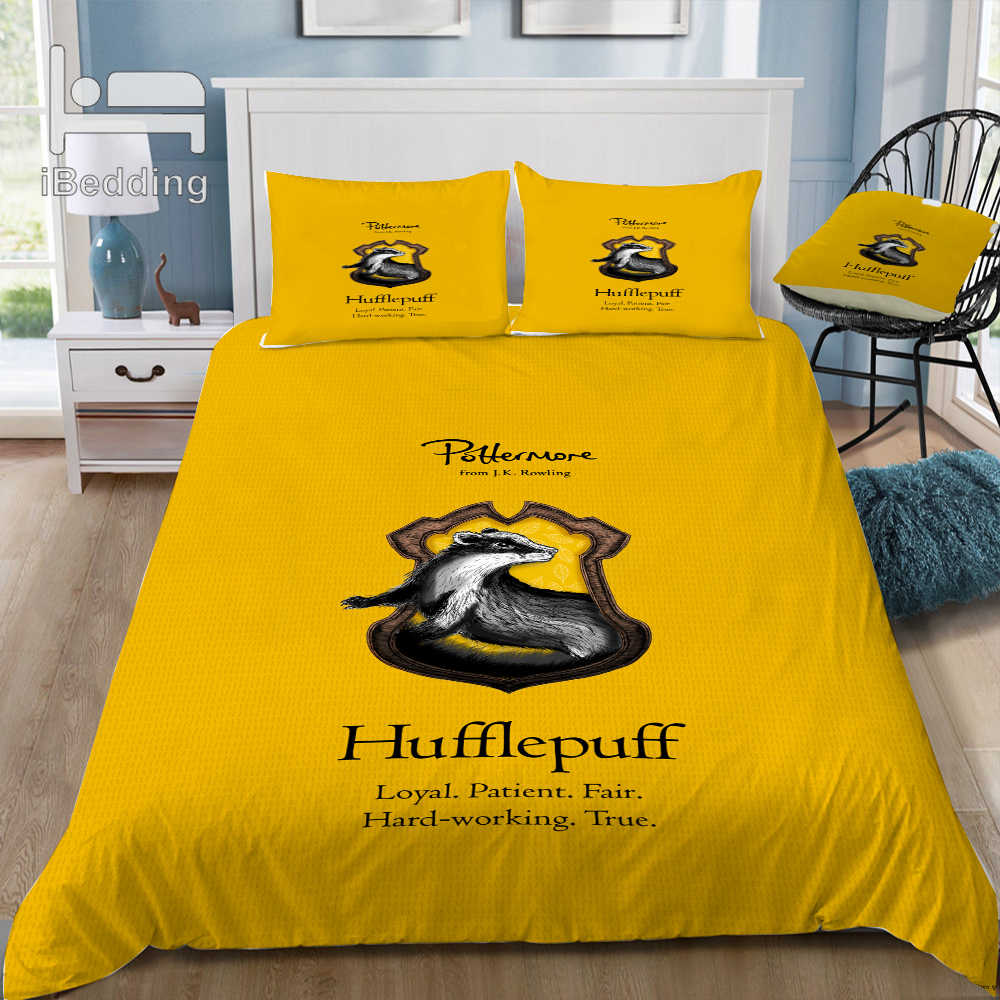 Campus Printed Duvet Cover Bedding Set Single Double King Super King