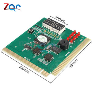 Image 2 - 4 Digit LCD Display PC Analyzer Diagnostic Card Motherboard Post Tester Computer Analysis PCI Card Networking Tools