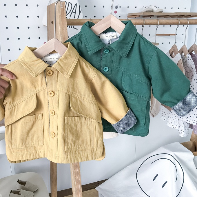 Girls Trench Coat British Style Casual Fashion Baby Toddlertrench Coat Kids Clothing Autumn New Arrival Newborn Infant Jacket