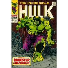 Best Nice Hulk   Marvel Comics Poster Cartoon Wall Sticker Print Your Own  Picture On Room