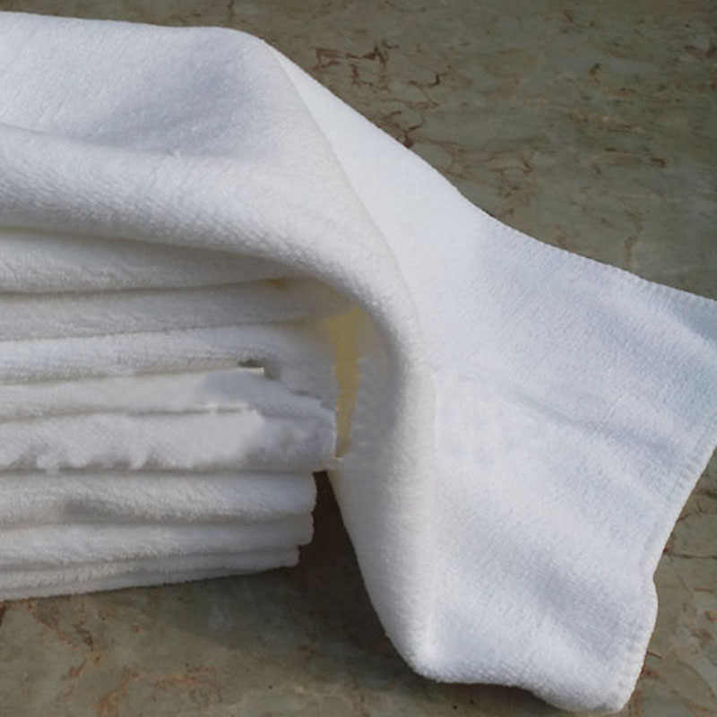 30 * 60Cm Soft Towel Microfiber Fabric Portable Hotel Towel Handmade Microfiber Nano White Towel Foot Reflexology Hotel
