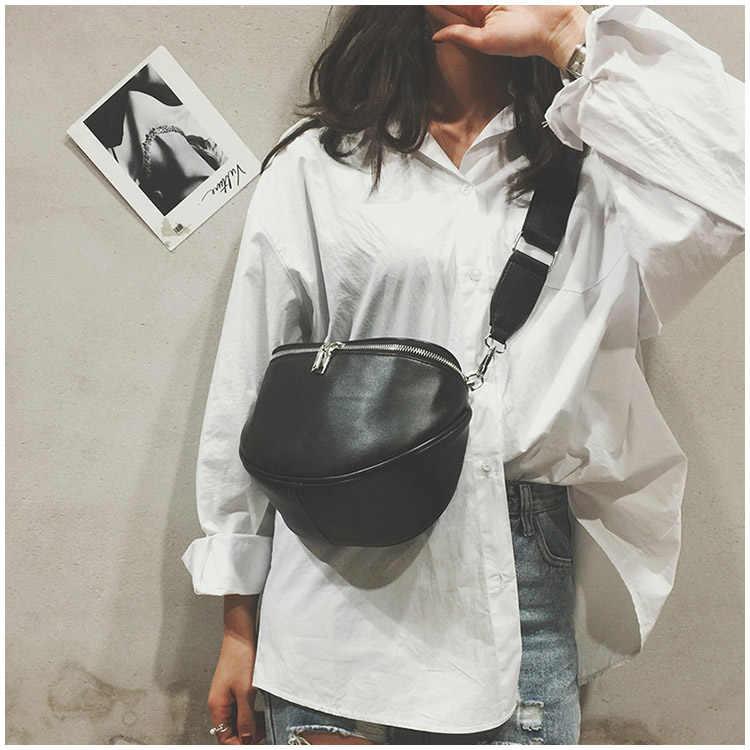 Mulheres zíper forma de bolinho ocasional bolsa de ombro couro do plutônio simples alta qualidade sólida mensageiro sacos famoso mensageiro bolsas