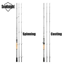 SeaKnight Falcon 1.98M 2.1M 2.4M Fishing Rod 2 Tips M&ML Power 2 Sections Lure Rod Spinning / Casting Carbon Rod Fishing Tackles
