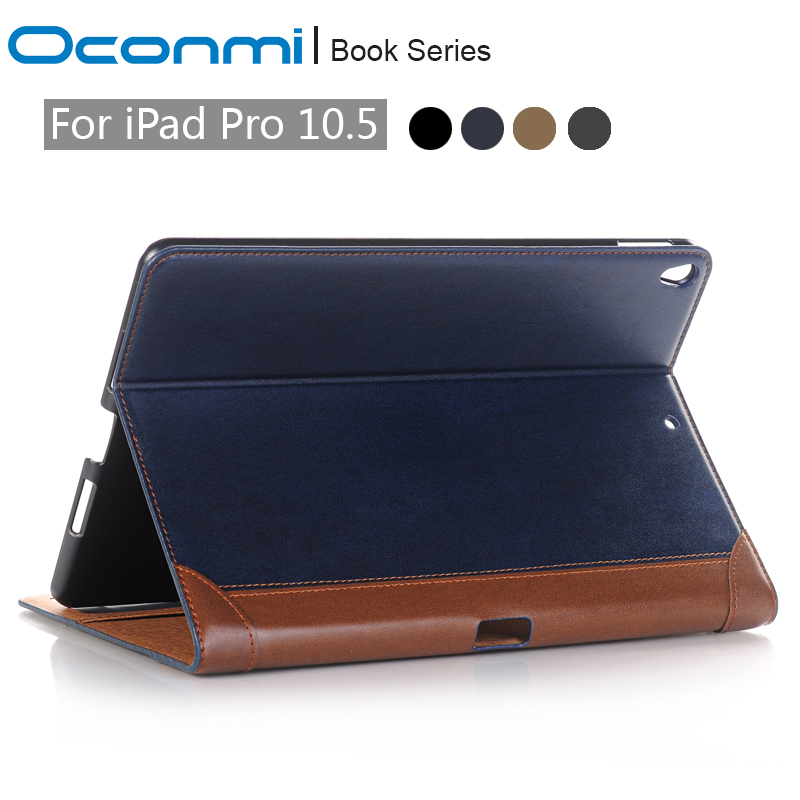 Luxury Wallet book PU leather case for Apple iPad Pro 10.5 2017 new stand shockproof tablet cover for New iPad Pro 10.5 case for apple ipad pro 12 9 2017 case fashion retro pu leather cases for ipad pro new 12 9 2017 tablet smart cover case pen