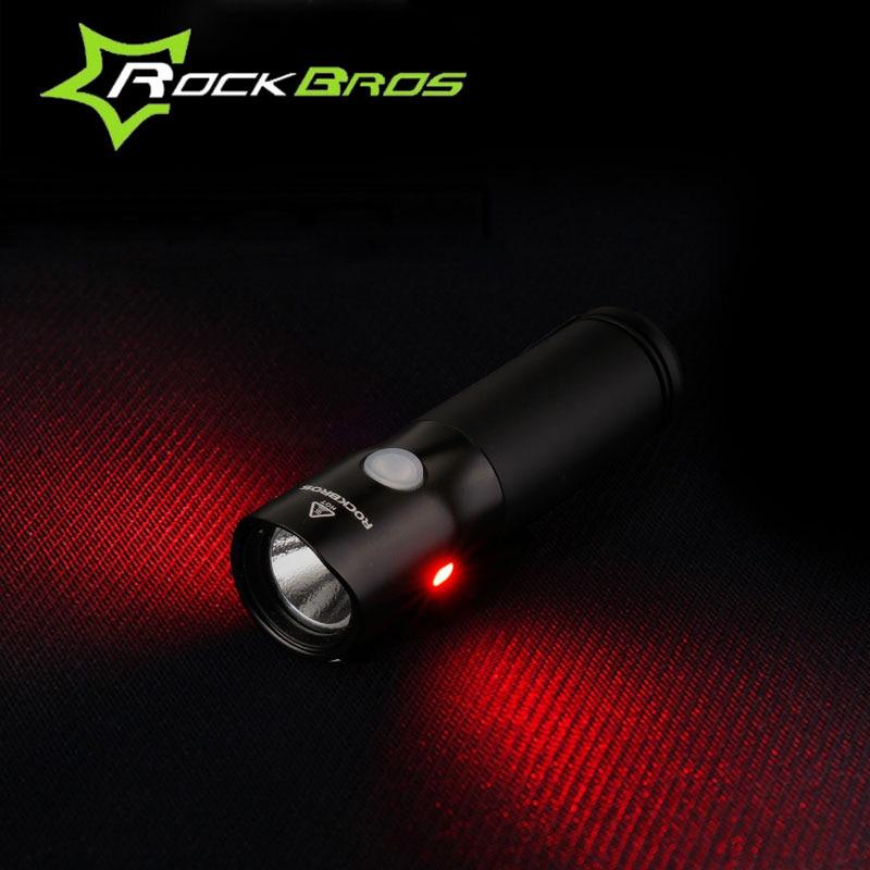 ROCKBROS MTB lagano USB punjivo svjetlo za bicikl, vodootporan - Biciklizam - Foto 2