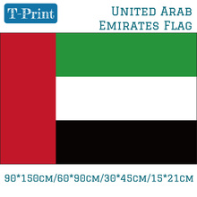 лучшая цена Free shipping United Arab Emirates National Flag 90*150cm/60*90cm/15*21cm For National Day