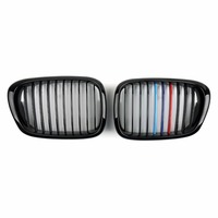 Areyourshop Car Replacement Part Front Fence Grill Grille Mesh For BMW 5 Series E39 2001 2004