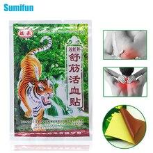 8 шт/1 пакет, тигровый бальзам для облегчения боли, пластырь, китайский пластырь для боли в спине, пластырь для облегчения боли, медицинский пластырь, массаж тела C291