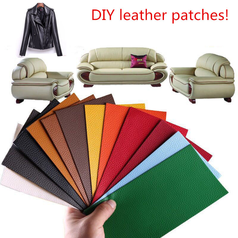 Leather Sofa Patches Leather Jacker Sticker Pu Patch Embroidered For