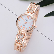 Lvpai  Luxury Rose Gold Watch Women Female Quartz WristWatches Dress Watch Brand Watches Women Fashion Bracelet Gift Clock #S