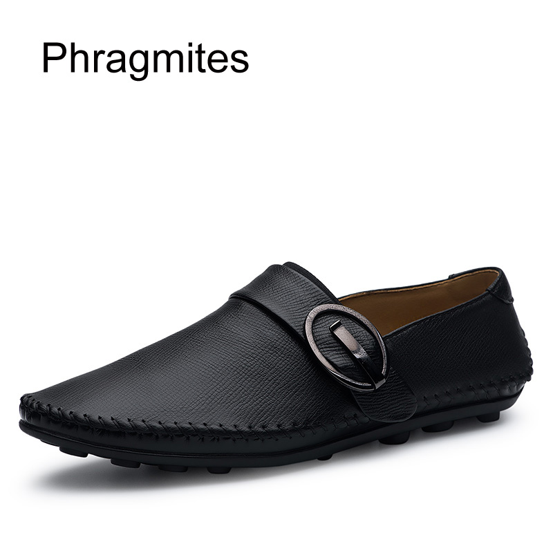 Phragmites Breathable Business Dress Shoes Flats Male Formal Shoes Size 37-48 Drop Shipping