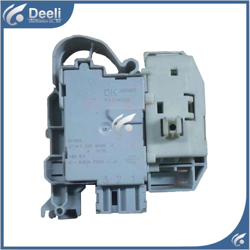 Free shipping Original for Siemens washing machine electronic door lock delay switch WS12K2601W WM14S4670W electronic door lock