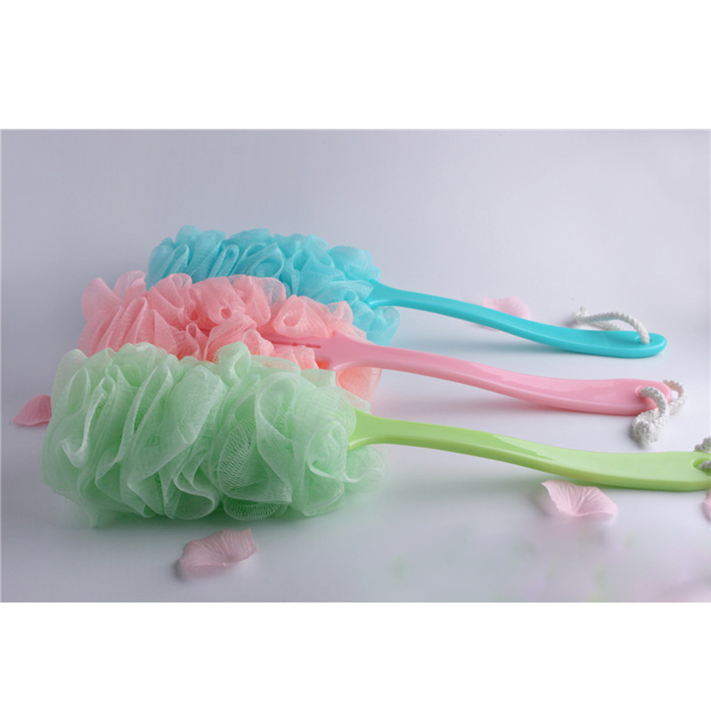 Body Sanitary Ware Suite Bath Brush Scrub Skin Massage Health Care Shower Reach Feet Rubbing Brush Exfoliation Brushes